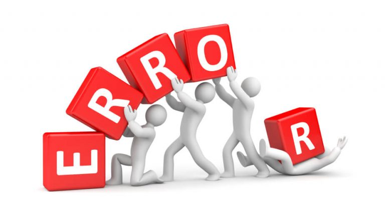 The role of error 2